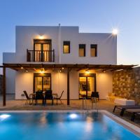 Cato Agro 1, Seafront Villa with Private Pool