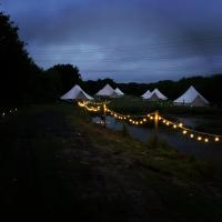 Glamping for 4 central Cornwall- wren