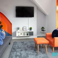 River View - 1 Bed Serviced Apartment in Cardiff City Center - Free Parking - By DYZYN