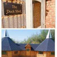 1 Miniature oast house or 1 separate self contained Duck Shed