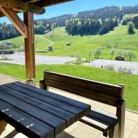 Chambre indépendante avec terrasse et jolie vue - Chalet Nelda