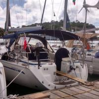 Stay in Sailing Yacht Ahead, right in city