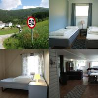 5 bedrooms, large apartment on farm, nice view and nature