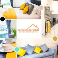2 Bedroom Minimalist Apartment Greenwich at Capture Properties Serviced Accommodation Deptford
