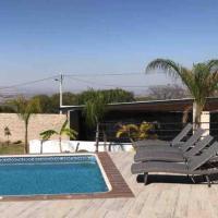 Casa de Campo con alberca climatizador solar