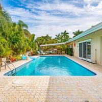 MIA VILLA! 4BR Ft Lauderdale oversize heated Pool, hotel in Fort Lauderdale