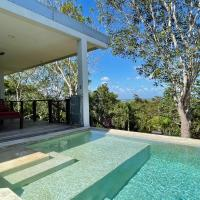 Contemporary Hilltop Home With Impressive Panoramic View and Pool