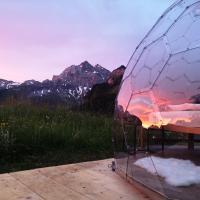 Glas Iglu Gitschenen am Urner Sternenmeer