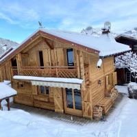 Chalet massif du Mont Blanc St Gervais Megeve