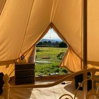 Boutique Bell Tent- Camp Quiet Mountain North Wales