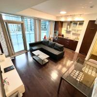 Spacious Downtown 2 Bedroom Condo, CN Tower Area, Parking