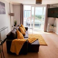 ⭑ Staywelcome- Stylish Apartment Near Heathrow, Skyline Views ⭑