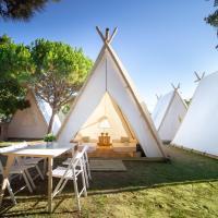 Jaimas Safari Los Caños / Trafalgar (Cádiz), hotel en Los Caños de Meca