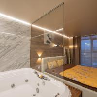 Люкс-апартаменты с джакузи и кроватью king-size