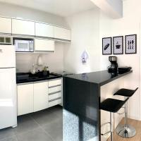505 - Lindo Apartamento 1 Quarto decorado no Bigorrilho com todos utensilios. Ótima lozalização.