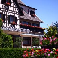 Hostellerie Reeb (Room Service disponible), hotel v destinaci Marlenheim