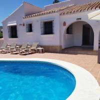 Casa rural Torrox Málaga con piscina y barbacoa privada