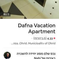 Dafna apartment, hotel em Konjsko