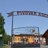 Pivovar Kocour, отель в городе Варнсдорф