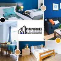 MONTHLY OFFER - Families or Contractor - 9 Guests by Nyos Properties Manchester