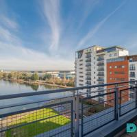 The Galley - 2 Bed Serviced Apartment - Amazing City Views - Wrap Round Balcony and secure parking