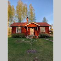 Trevlig stuga med endast 300 m till Dalälven.