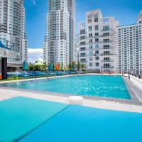 Amazing Ocean&City View in Miami with Pool&Gym 2BD