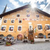Historic Hotel Crusch Alva, hotel a Zuoz