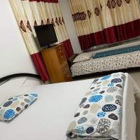 Its in a lovely villa house, with great environment in a good location