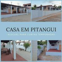 Casa Praia Pitangui (Litoral Norte Natal), hotel in Extremóz