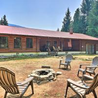 Riverfront Troy Cabin Ready with Bikes and Rafts!, hotel in Troy