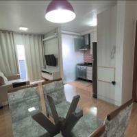 Apartamento aconchegante - totalmente mobiliado - melhor localização da cidade - com Wi-Fi super veloz, hotel near Joinville-Lauro Carneiro de Loyola Airport - JOI, Joinville