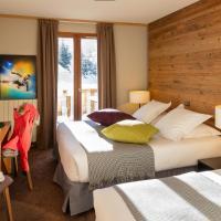 Hillary Hotel, отель в Ле-Менюир