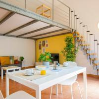 ALTIDO Cosy and Colorful studio near Leaning Tower with parking, hotell i Pisa