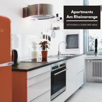 "Apartments ""Am Rheinorange"", Netflix, Amazon Prime"