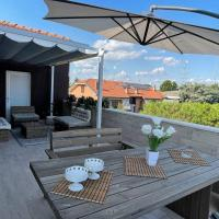 [ASSAGO Forum] wide flat with terrace and BBQ, hotell i Assago