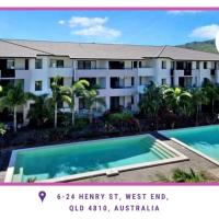 3BRM West End Luxury Apt, 3beds & Pool - Unit 54, hotel near Townsville Airport - TSV, North Ward