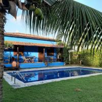 Casa Azul - Condomínio Pipa Natureza