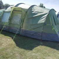 Punch Bowl Hotel Campsite 8 man tent rental