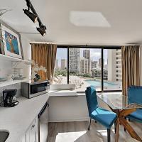 Hawaiian Monarch 805 condo, hotel in Honolulu