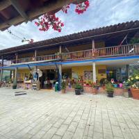 Castillo de Cascadas Finca Hotel, hotel in Salamina
