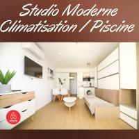 Studio Moderne Piscine Proche Plages