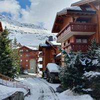 Appart 3 pièces pour 5 à 7 personnes ski au pieds dans résidence avec Piscine