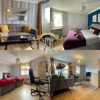 Grays - Dwellers Delight Luxury Stay Serviced Accommodation, 2 Bedroom Apartment, Upto 5 Guests , Free Parking & Wifi