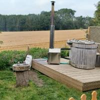 Norwell view farm glamping with hot tubs