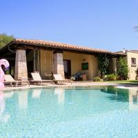 Lux Villa Smeralda Pool and Beach