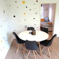 weddeko Apartment SENFGELB für 5 Personen