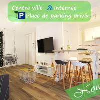 L'Evasion Lourdaise Terrasse Centre Parking wifi