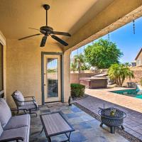 Spacious Gilbert House with Hot Tub and Fire Pit!