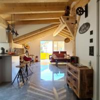 """""""alti Post"""" zentralgelegene, stilvolle Dachwohnung"""